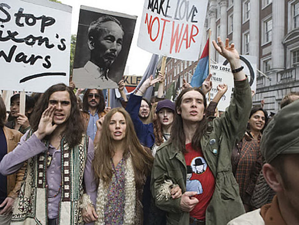 an analysis of the topic of the hippie society