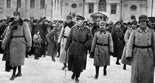 Германские оккупанты в Минске