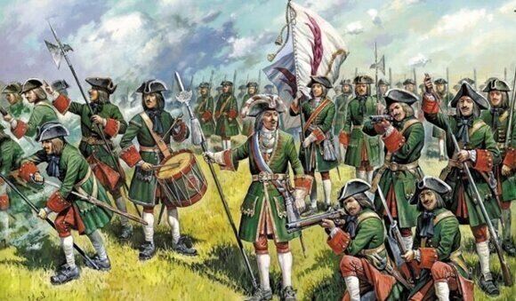 армия Петра 1