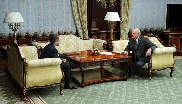 Встреча с послом России в Беларуси Михаилом Бабичем