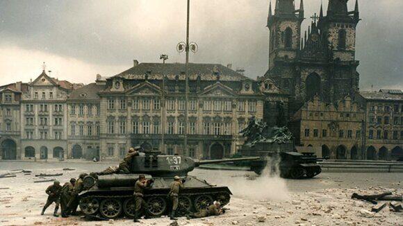Битва за Прагу