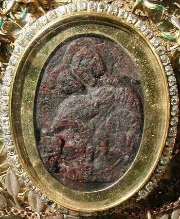 Икона Жировической Божией Матери