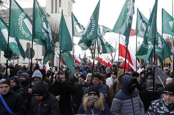 Марш польских нацистов