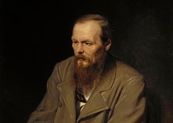 Федор Михайлович Достоевский. Портрет работы художника В.Г.Перова (1872)